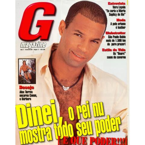 Revista G Magazine Dinei 17 Fev 1999 Original*