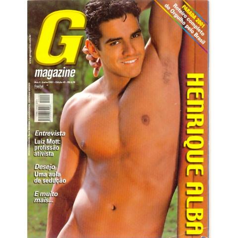 Revista G Magazine Henrique Alba 45 Jun 2001 Original