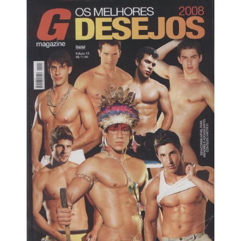 Revista G Magazine Os Melhores Desejos 2008 ed 13 Original