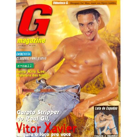 Revista G Magazine Victor Xavier n 1 Original