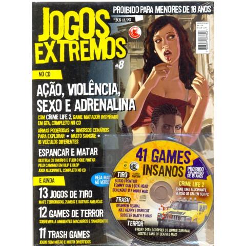 Revista Pc Game Jogos Extremos 8 Porno E Erótico Original