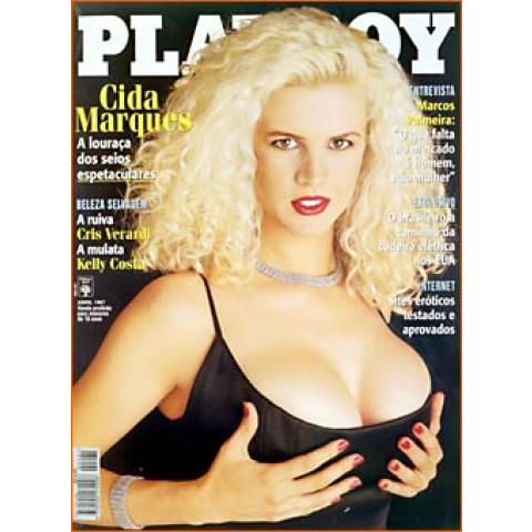 Revista Playboy Cida Marques 261 Abr 1997 Original
