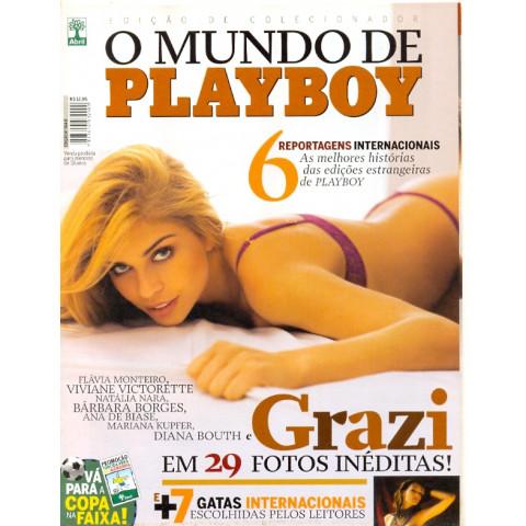 Revista Playboy Especial O Mundo de Playboy Grazi 364 D Original