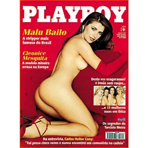 Revista Playboy Malu Bailo 264 Jul 1997 Original