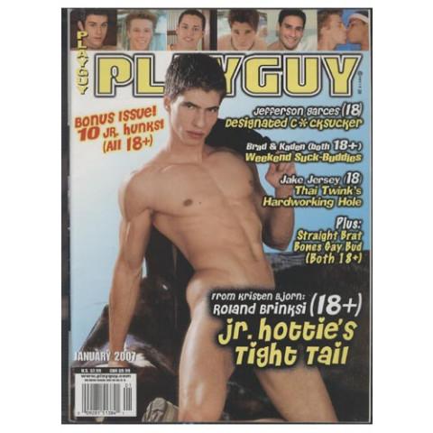 Revista Playguy January - Nº.01  - 2007 - Original