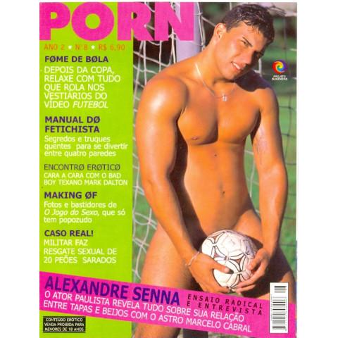Revista Porn Alexandre Senna Ano 2 N 8 Original