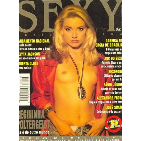 Revista Sexy Regininha Poltergeist 168 Dez 1993 Original*