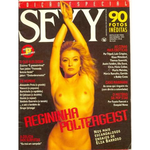 Revista Sexy Regininha Poltergeist 179 A Nov 1994 Original*
