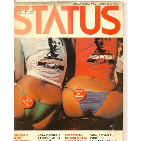Revista Status Estranho Amor Estranho 99 Out 1982 Original*