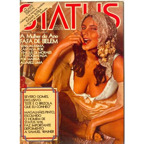 Revista Status Fafa De Belém 55 Fev 1979 Original