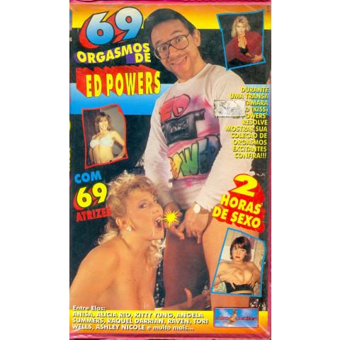 Vhs 69 Orgasmos de Edd Powers Alicia Rio e Ashley Nicole 1995