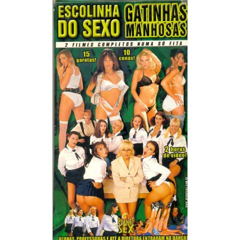Vhs Escolinha do Sexo Gatinhas Manhosas Planet Sex 2000