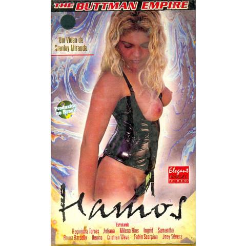 Vhs Hamos Buttman Produção 1999 Regininha Torres & Fabio Scorpion Original