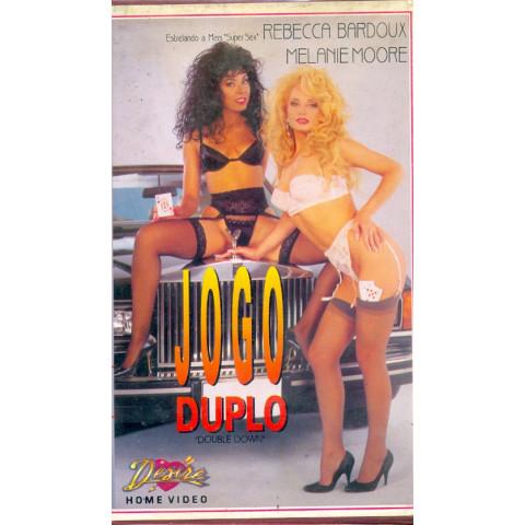 Vhs Jogo Duplo Desire Rebecca Bardoux & Melaine Moore Original