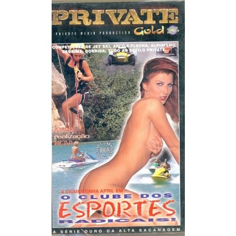 Vhs O Clube dos Esportes Radicais Private Gold 1998 Original