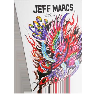 Sketchbook Jeff Marcs - Fênix
