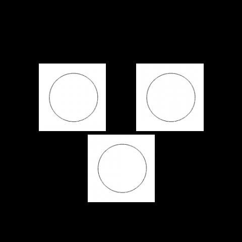 Bolinhas 2mm (3 unids)