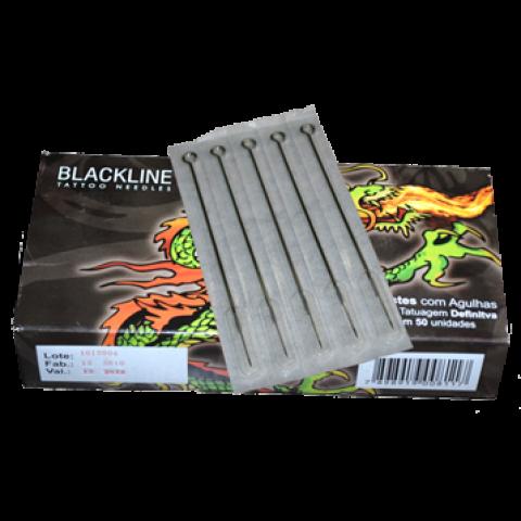 Caixa de agulhas Black Line RL-03