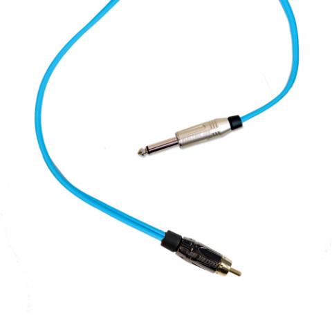 Clip Cord RCA - Electric Ink - Azul Bebê