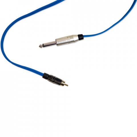 Clip Cord RCA - Electric Ink - Azul Royal