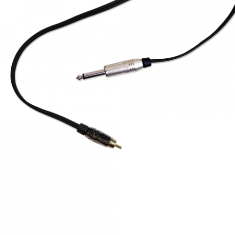 Clip Cord RCA - Electric Ink - Preto