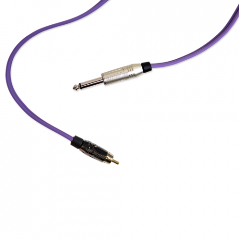 Clip Cord RCA - Electric Ink - Roxo
