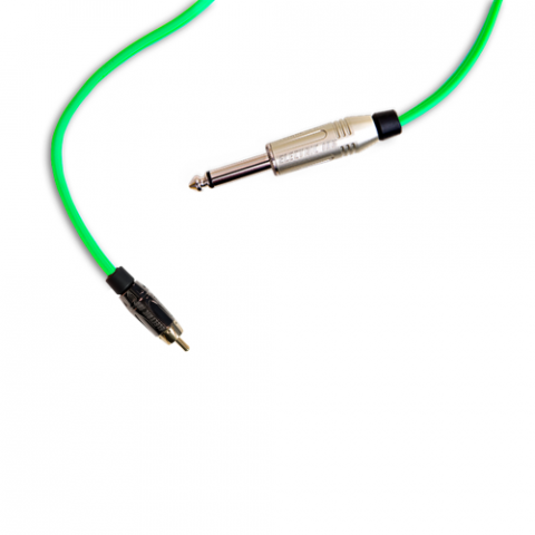 Clip Cord RCA - Electric Ink - Verde Limão
