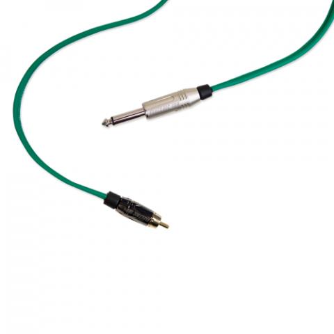 Clip Cord RCA - Electric Ink - Verde Bandeira