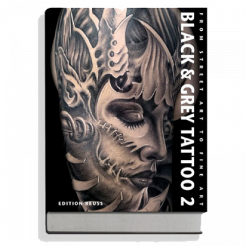Livro Black & Grey Tattoo 2