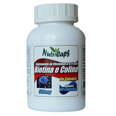 Biotina e Colina com Vitaminas