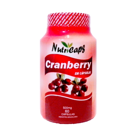 CranBerry 500mg - 60 Cápsulas