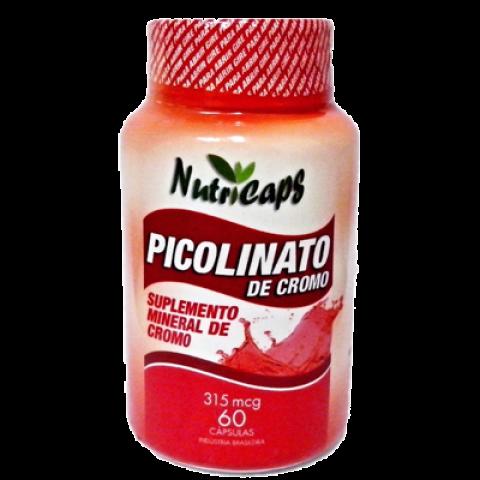 Picolinato de Cromo 315mcg - 60 Cápsulas