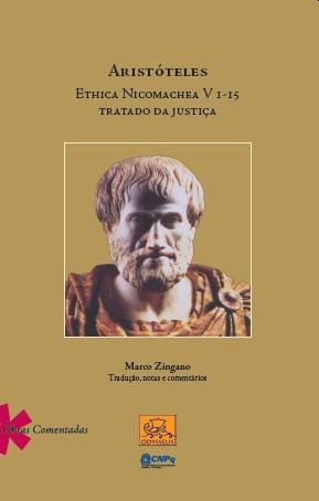 Aristóteles Ethica Nicomachea V I - I 5 Tratado da Justiça