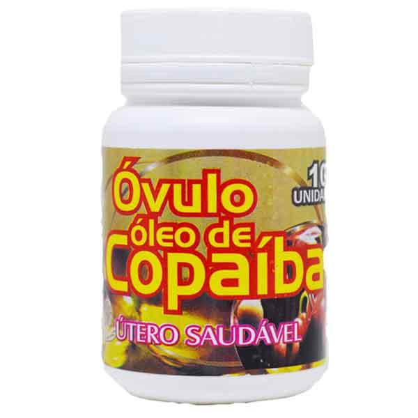Óvulo óleo de Copaíba - útero saudável