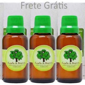 Óleo de Copaíba 3 frascos de 30ml Vidro com Conta Gotas Mais Vendido pelo Quarto Ano Consecutivo