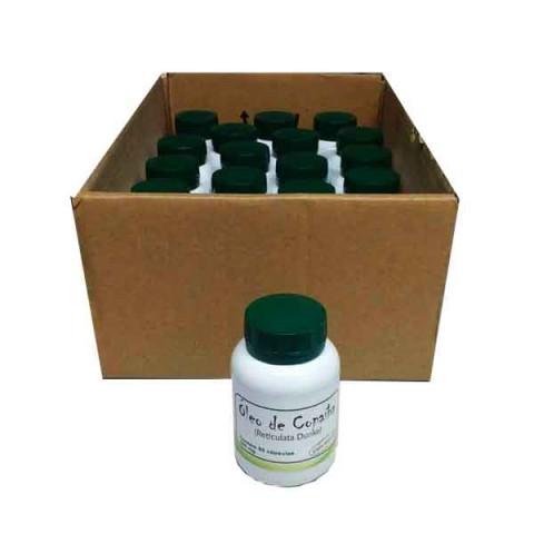 Óleo de Copaíba em cápsulas pote com 60 de 500mg -20 Potes na Embalagem para Revenda