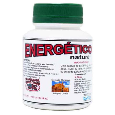 Energético Afrodisíaco Natural da Amazônia  60 - Capsulas de 500 mg