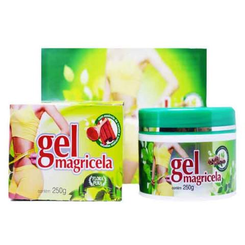 Gel Magricela para Massagens Linfáticas Lipo Redutoras 250g