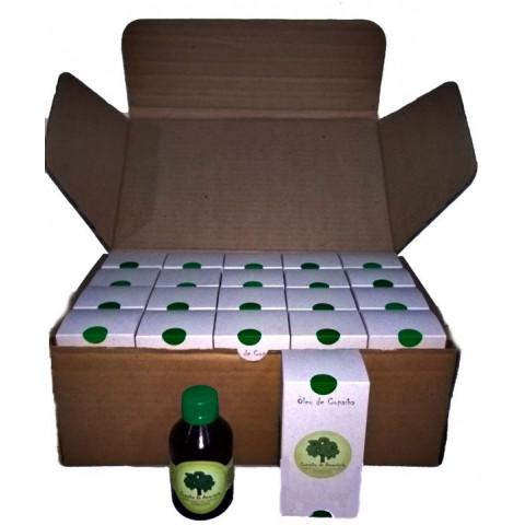 Óleo de Copaíba frasco Âmbar 100 ml- 20 Frascos na Embalagem para Revenda