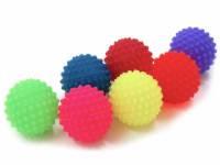 Bola cravo de 6cm de diâmetro para massagem(cores variadas)