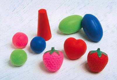 Bola para Fisioterapia de espuma(cores variadas)(unidade)
