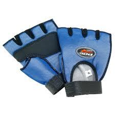 Luva nylon azul Polimet(tamanhos P/M/G)-par
