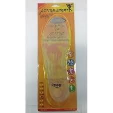 Palmilha de silicone Action Sport ( tamanhos 33 ao 44)-33/34