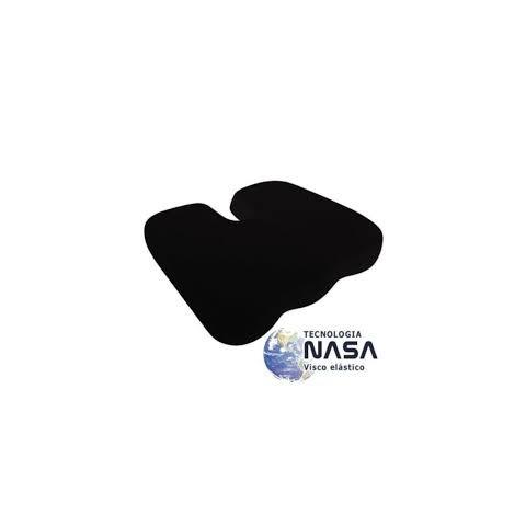 Almofada terapêutica cóccix látex na cor preta(tamanho único)
