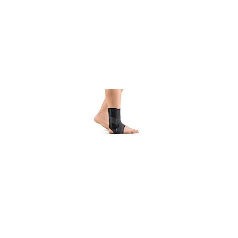 Estabilizador de tornozelo na cor preta Hidrolight(tamanhos P/M/G/GG)-Médio