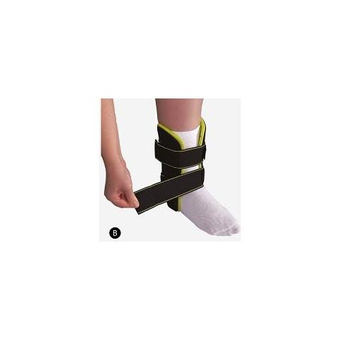 """Estabilizador para tornozelo na cor preta - tipo """"Cast""""(tamanho único) Mercur -unidade"""