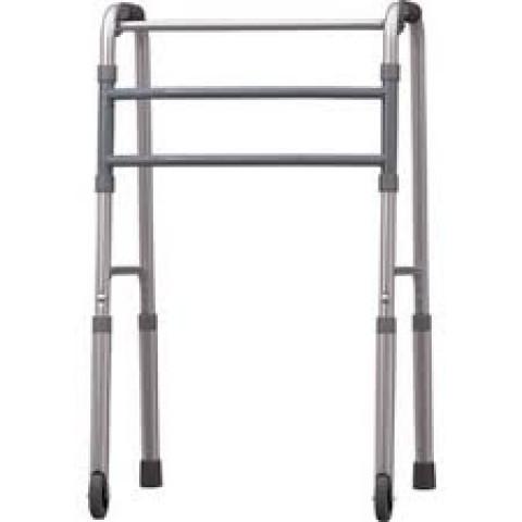 Andador de alumínio com rodas dobrável Mercur
