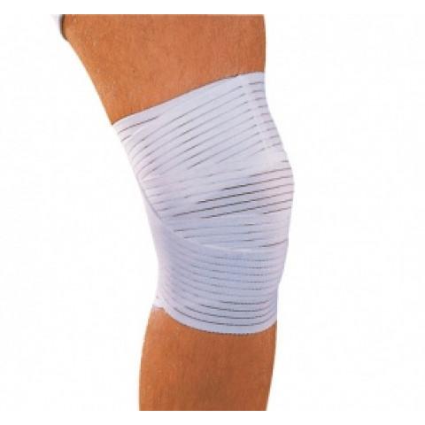 Atadura Elástica Spandex(joelho/coxa)branca Mercur(tamanho único)-unidade
