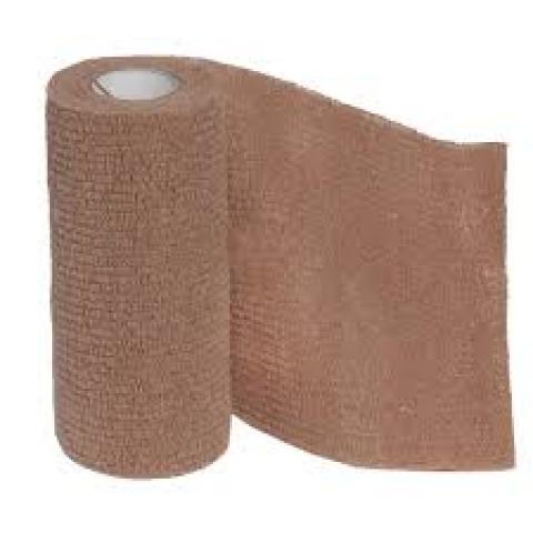 Bandagem adesiva Coflex de 10cm bege