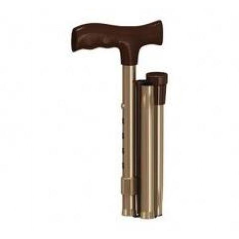 Bengala Tipo T Dobrável Bronze Mercur